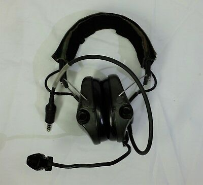 NO RESERVE, UNTESTED / FOR PARTS REPAIR MSA Supreme Pro Noise Cancelling Headset