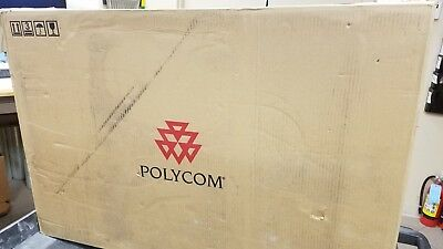 "New In Box Polycom HDX 4500 24"" HD Video Conferencing System"