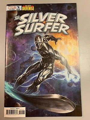 Silver Surfer The Best Defense #1 Skan Retailer Incentive Variant Edition Cover