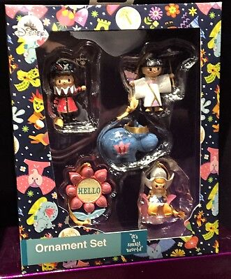 It's A Small World Ornament Set Of 5 Christmas Holidays Disney Theme Parks