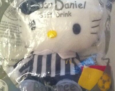 Hello Kitty Dear Daniel referee SOFT DRINK McDonald 2002 Reversible unopened new