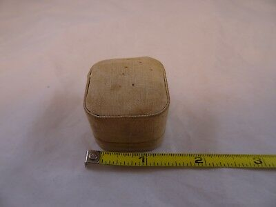 Antique Vintage Sewing Thimble Storage DISPLAY Box Case Holder Engles