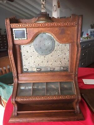Late 1890's Trade Stimulator Slot Machine Called A Counter Pocket - Ogden & Co