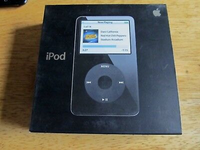 Apple Ipod Video Classic BOX ONLY 30gb 5th VERY NICE!