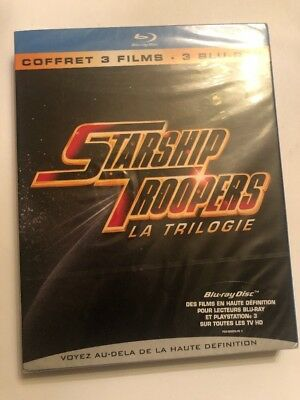 STARSHIP TROOPERS - Blu ray - Edition Française - Neuf sous blister La Trilogie