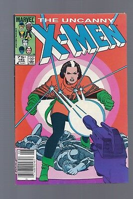 Canadian Newsstand Edition Uncanny X-Men #182 $0.75 Price Variant