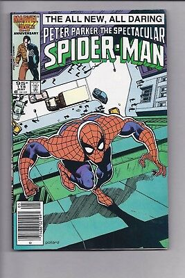 Canadian Newsstand Edition Spectacular Spider man #114 $0.95 Price Variant
