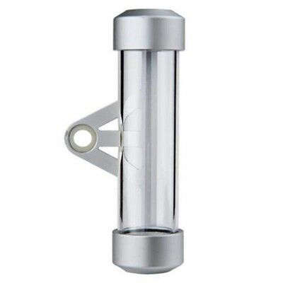 Aluminum Cylindrical Thumbnail Tube + ABS for motorcycle A4W4