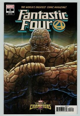 Fantastic Four 6 Mystery variant cover 1st print Marvel Comics 2019 Legacy 651