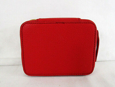 FLIGHT 001  Red Faux Leather Travel Medic Msrp $ 28.00