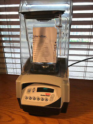 Vitamix the quiet one commercial blender VM0115E Great cond. NEW Blendtec Jar