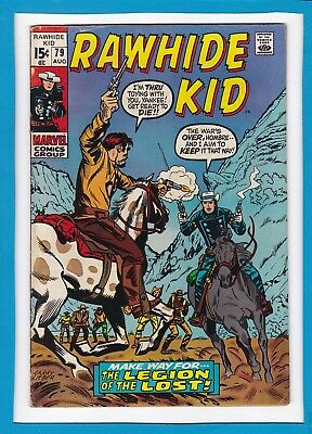 "Rawhide Kid #79_August 1970_Fine_""the Legion Of The Lost""_Bronze Age Western!"