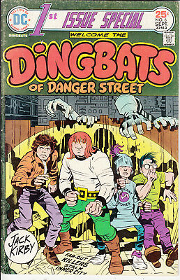 1st ISSUE SPECIAL DINGBATS of DANGER STREET #6 FN/VF+ DC VERY CLEAN