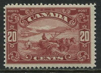Canada 1929 definitive 20 cents Harvester unmounted mint NH