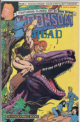 Doomsday Squad  #7 By John Byrne  Fn+/vf+ Fantagraphic Books 1987 American Comic