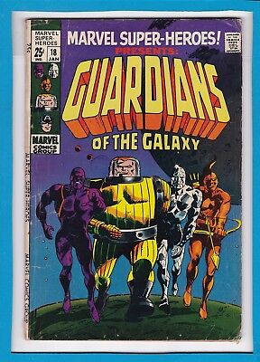 MARVEL SUPER-HEROES #18_JANUARY 1969_VERY GOOD_1st APP GUARDIANS OF THE GALAXY!