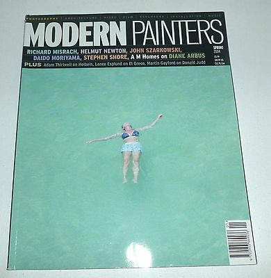Modern Painters magazine 2004 ART MAGAZINE Richard Misrach, Helmut Newton etc