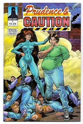 PRUDENCE & CAUTION V1 #1 1st ISSUE VF/VF-  by DEFIANT COMICS 1994 AMERICAN COMIC