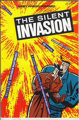 SILENT INVASION #9     FN+/VF+ by RENEGADE  PRESS 1987  AMERICAN COMIC