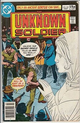 UNKNOWN  SOLDIER  #241    FN+/VF+ by D C COMICS 1980  AMERICAN COMIC