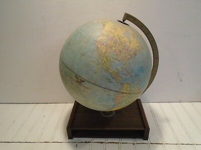 "Vintage Replogle Comprehensive Globe - 12"" dia."
