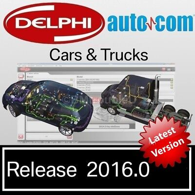 *NEW* Delphi Autocom 2016.0.02 Cars, Trucks & Vans Software  ☆Limited Edition☆