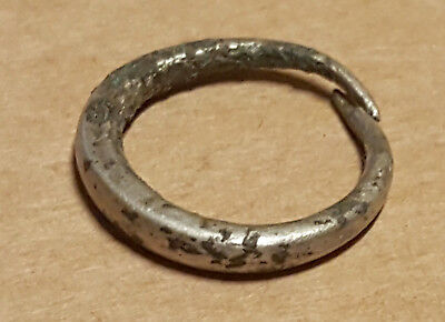 Viking Twisted SILVER finger ring GREAT CONDITION