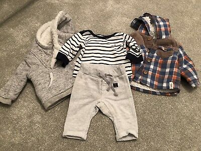 Baby Boys bundle Up To 1 Month And Newborn. Junior J, Tu, Mothercare, Polarn O P