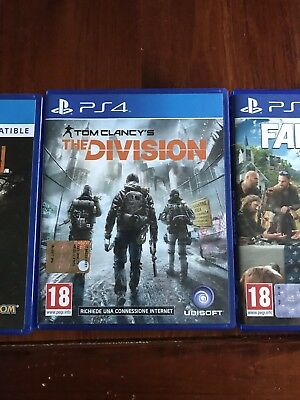 Tom Clancy's the Division Ps4 Italiano