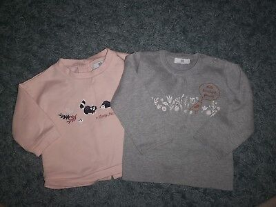 Baby girls jumpers 9-12 months