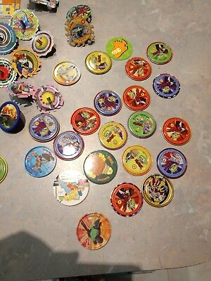 Collection Of Tazo beyblades Plus More
