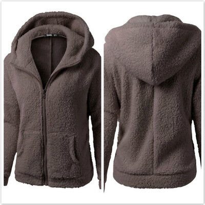 Ladies Sportswear Zip-up Couples Pullover Tops Winter Thicken Outwear Casual D