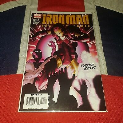 Iron Man The Inevitable #6 - Signed by Frazer Irving - Marvel Comics
