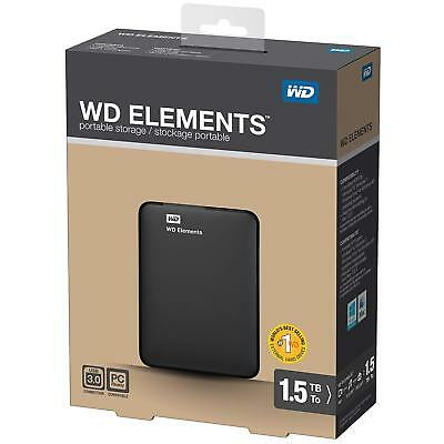 Disque Dur Externe 1 TO USB 3.0  2,5 Portable 1TO 2TO 3TO 4TO TB Western Digital
