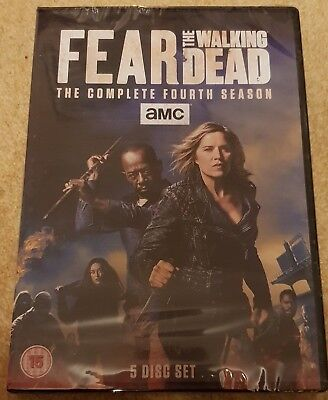 Fear The Walking Dead Complete Season 4 Brand New Sealed UK region 2 dvd