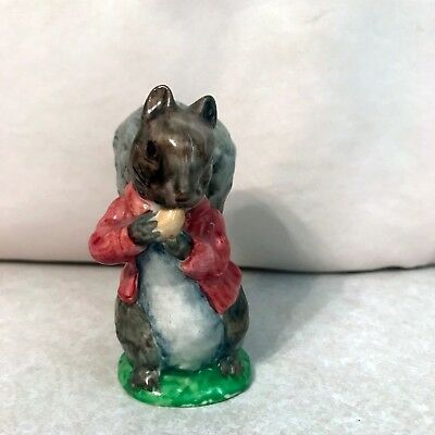 "Vintage ""Timmy Tiptoes"" figurine BEATRIX POTTER COLLECTION Beswick England"