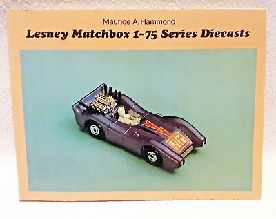 Lesney Matchbox 1-75 Series Diecast Catalog Guide Paperback Reference Book Toy