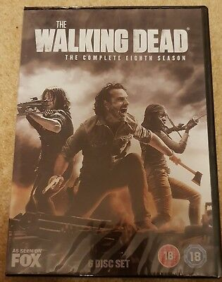 The Walking Dead Season 8 DVD Brand New Sealed free Postage Region 2 UK
