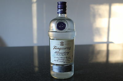 Tanqueray Bloomsbury London Dry Gin Limited Edition 1000ml, weltweit rar
