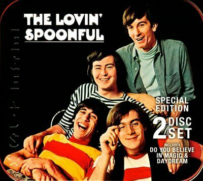 (Sealed) The Lovin' Spoonful RARE Special Ed Collector 2-Disc Set in Metal Case