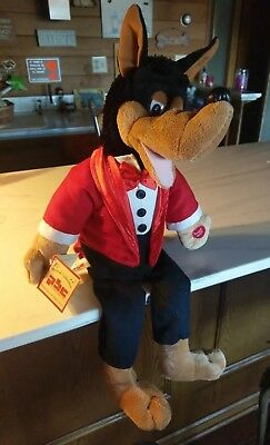 PBC Big Bad Wolf Sings Little Red Riding Hood Animated Musical Plush Doll!