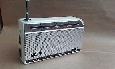 Radio Vintage Epeo Ep-722  7 Transistor Made In Japan