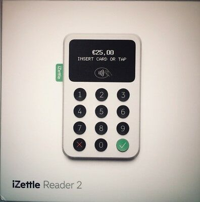 iZettle Reader 2 Chip And Pin Contactless Card Reader