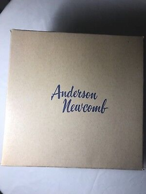 VINTAGE Anderson-Newcomb Department Store HAT BOX - Huntington, West Virginia