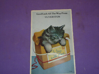 Mailing Novelty Pull Out Postcard Ulvertson 1960s (CAT)