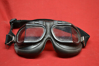 Classic Aviator  Flying  Vintage Retro Motorcycle  Goggles