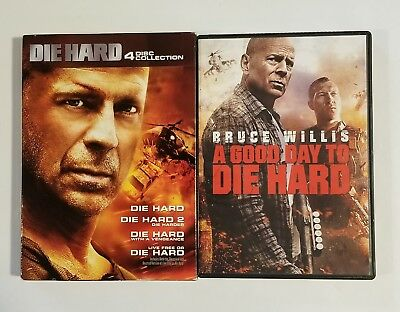 Die Hard 5-Movie Collection DVD Bruce Willis Free Shipping Mint Condition