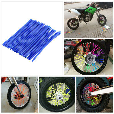 Spoke Covers Wraps Kit Skins Guard Protector For Motorcycle Bike Wheel Hot Sale