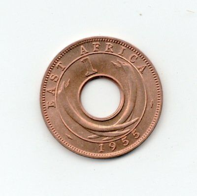 East Africa Uncirculated 1955 Cent-Lot Z2
