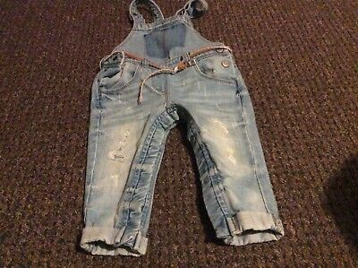 Girls dungarees from next 9-12 months